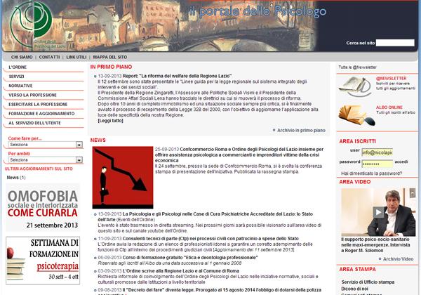 L'attuale comunicazione dell'Ordine degli Psicologi del Lazio